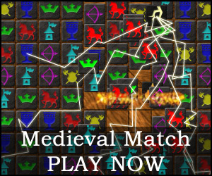 Play the game Medieval Match online